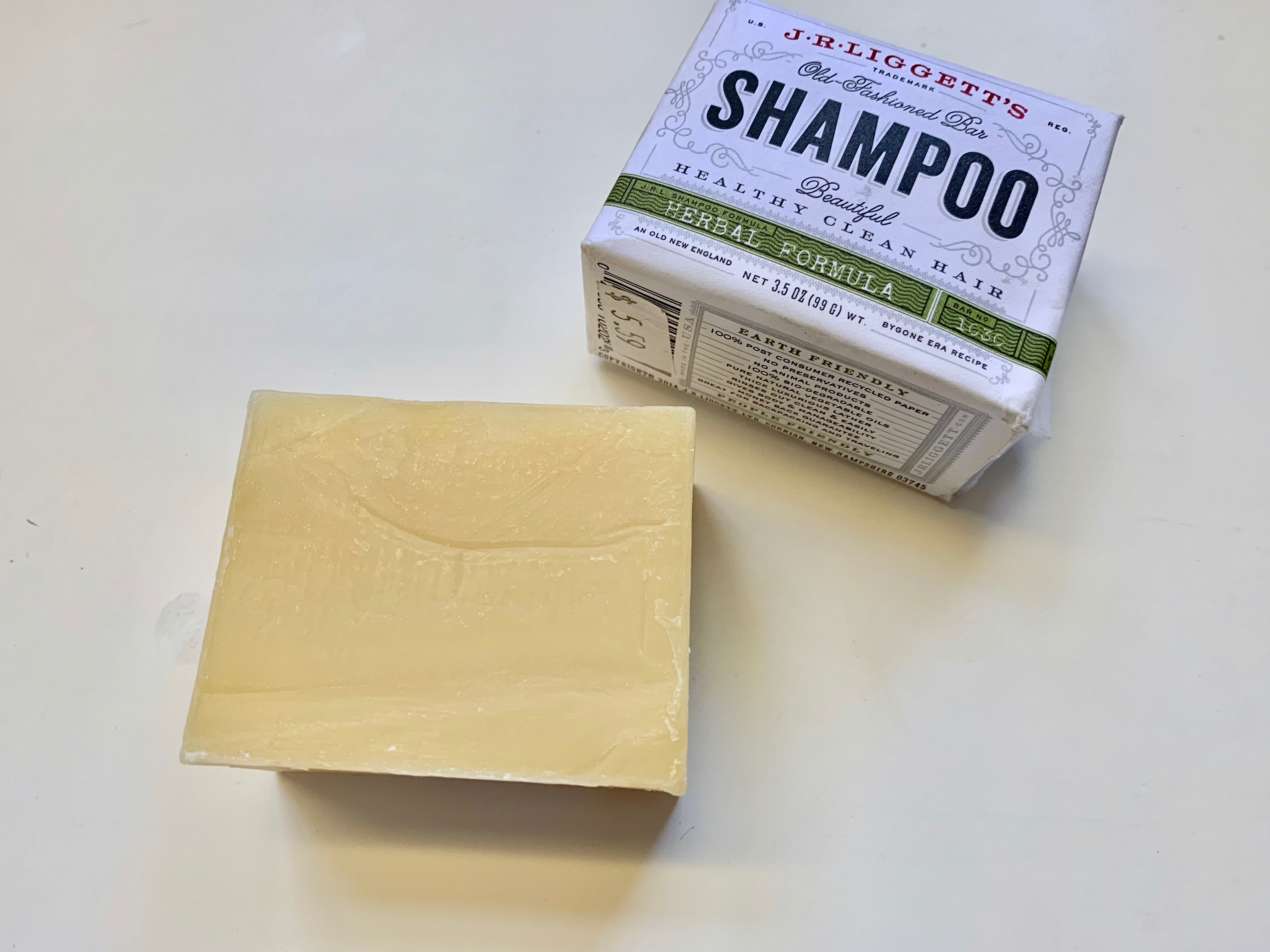 How to make liquid shampoo from shampoo bar - Our Gabled Home