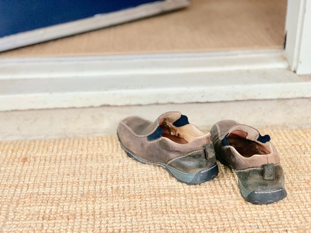 why we remove shoes at home