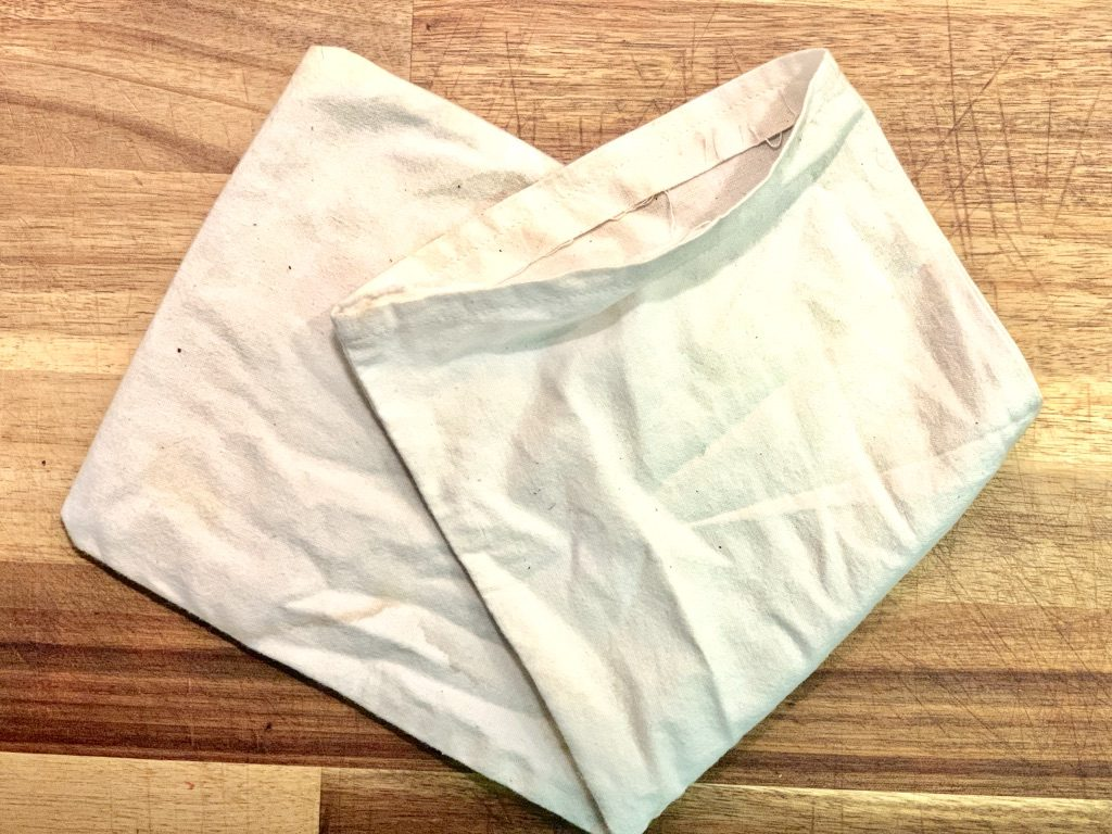 easy-to-make cloth bags for bulk food items