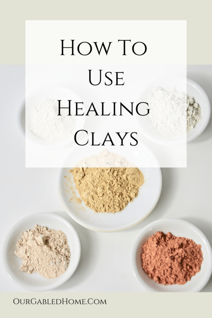 pin for healing clays