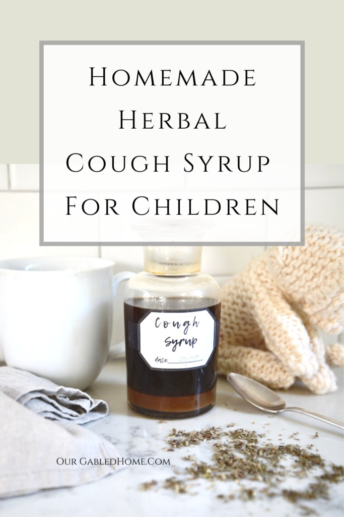 Homemade Herbal Cough Syrup for Children
