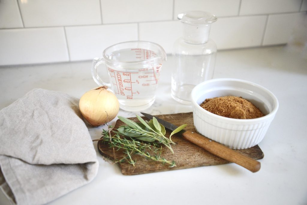 ingredients for homemade herbal cough syrup
