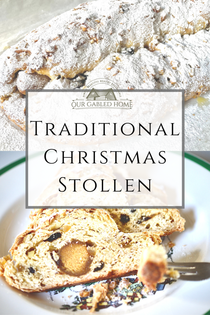 Traditional Christmas Stollen - Easy Recipe