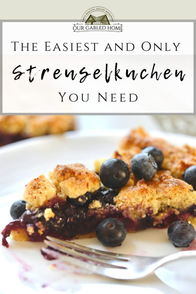 The easiest and only Streuselkuchen recipe you need